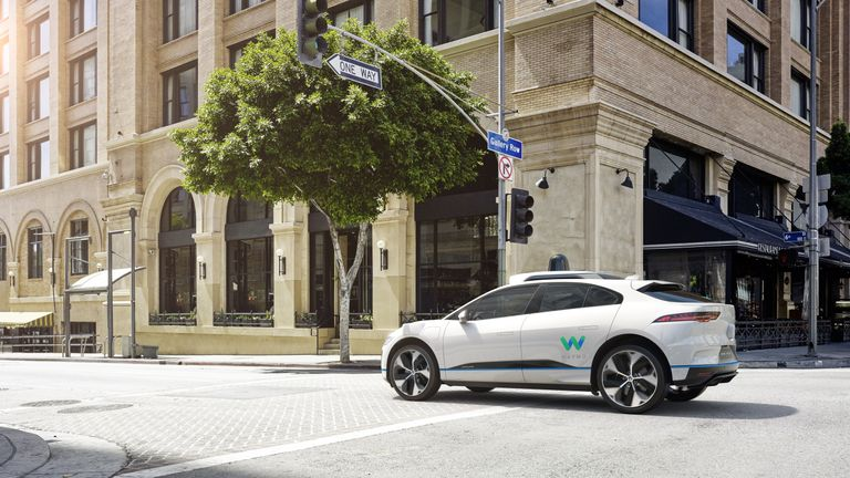 Jaguar I-PACE partnership with Waymo