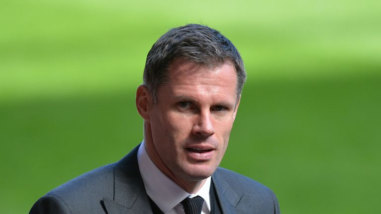 Jamie Carragher has apologised for his behaviour, saying he has 'no excuses'