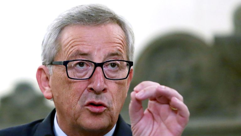 Jean-Claude Juncker, president of the European Commission, warned Britain it will 'regret' leaving the EU