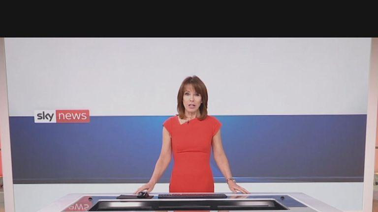 Sky News presenter Kay Burley wins prestigious London Press Awards