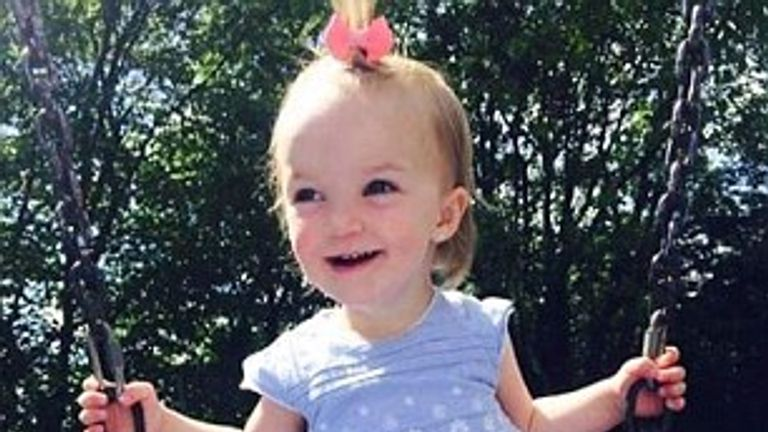 Kiara Moore was two years old