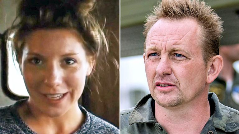 Peter Madsen is accused of murdering journalist Kim Wall on board his submarine. Pic: Hendrik Hinzel/Kim Wall Memorial Fund
