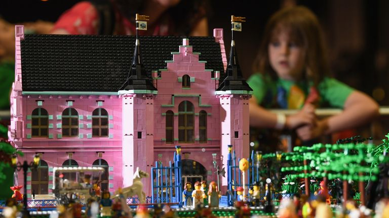 Lego enthusiasts attend the Bricklive at the Scottish Exhibition and Conference Centre on July 20, 2017 in Glasgow, Scotland