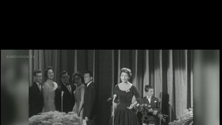 Lys Assia - the first person to win the Eurovision song contest - has died at the age of 94.