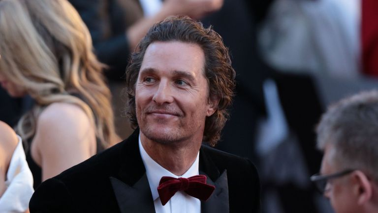 Actor Matthew McConaughey arrives for the 90th Annual Academy Awards on March 4, 2018, in Hollywood, California