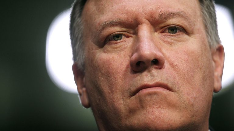 CIA director Mike Pompeo will be the new Secretary of State