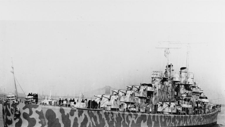The USS Juneau In New York Harbour, 11 February 1942. Pic: U.S. National Archives