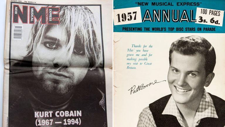 Iconic music magazine NME shuts down print operation | UK News | Sky