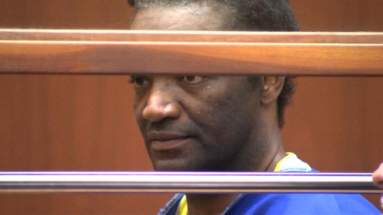 Terry Bryant in court over the theft of an Oscar