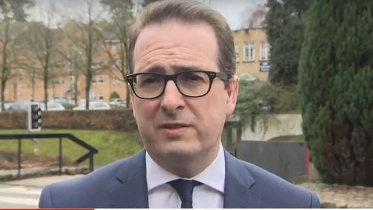 Owen Smith speaks to Sky News after being sacked as shadow Northern Ireland secretary