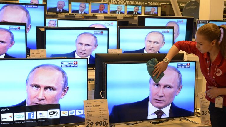 RT's UK broadcast licences are held by state-owned Russian company ANO TV-Novosti