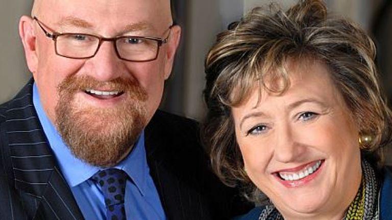 Rosemary Squire and Howard Panter who own Trafalgar Studios