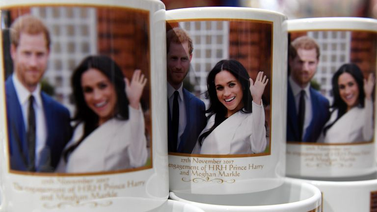 The choice of Royal wedding memorabilia is mind boggling