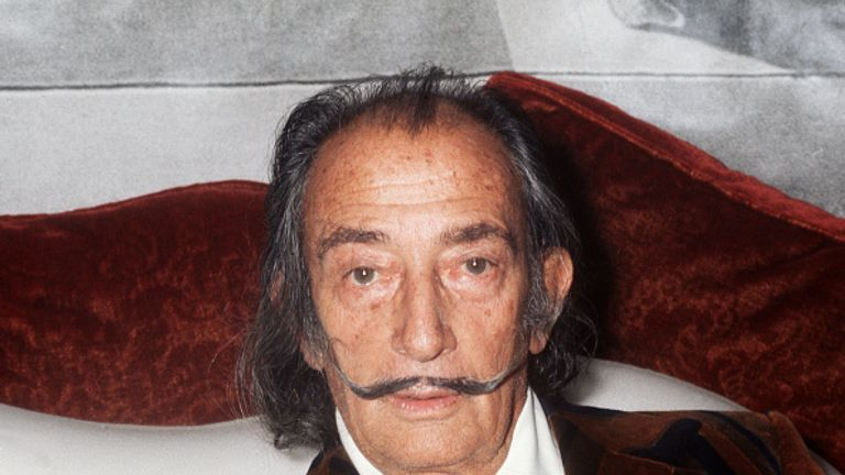 Salvador Dali created 11 of his iconic Lobster Telephones which were commissioned in 1938