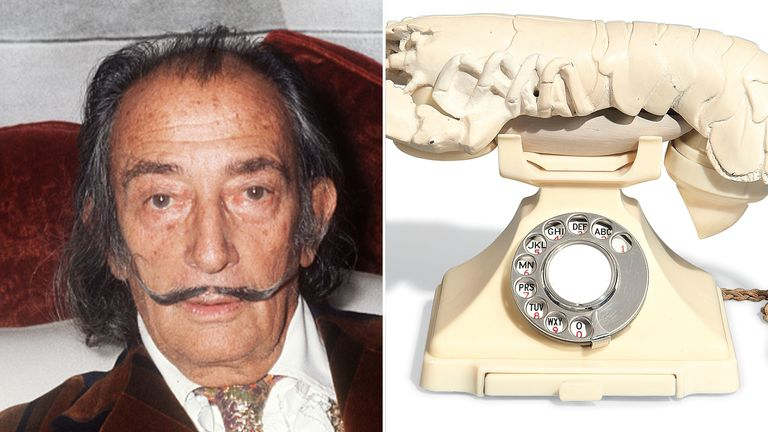 The Lobster Telephone is one of Salvador Dali's most famous works