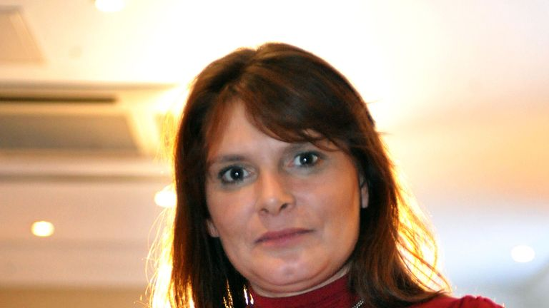 Sara Payne, whose daughter Sarah was murdered aged eight