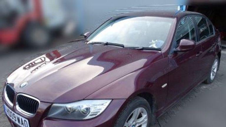 Sergei Skripal car