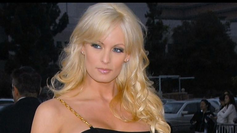 Stormy Daniels says she was threatened to keep quiet about Trump.