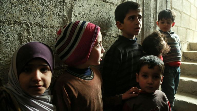 Syria S Children Enduring Hell On Earth But Give Us Reason To Stand