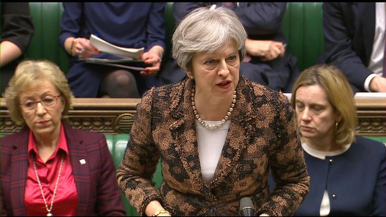 Theresa May says Sergei Skripal and his daughter were poisoned with a 'military-grade nerve agent'