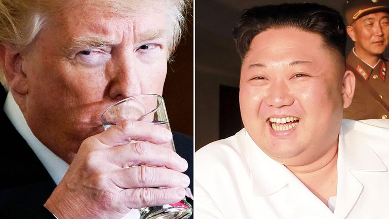 Donald Trump is set to meet with Kim Jong Un