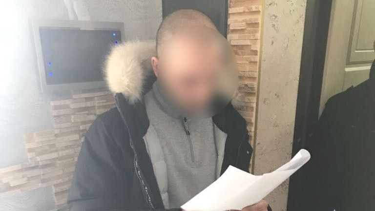 A picture of the 'mastermind' released by the Ukrainian cyber police