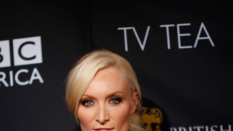 The actress Victoria Smurfit is best known for roles in TV's Ballykissangel and the movie About A Boy starring Hugh Grant