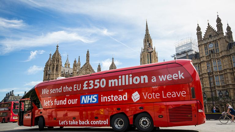 Vote Leave has been accused of breaching spending rules