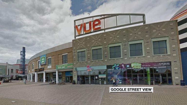 Vue Cinema at Birmingham's Star City complex. Pic: Google Street View
