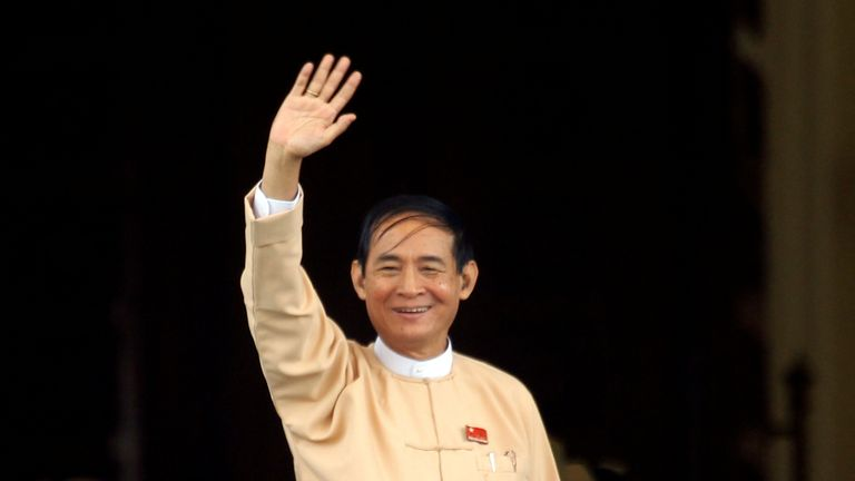 Win Myint is not afraid of calling out military MPs