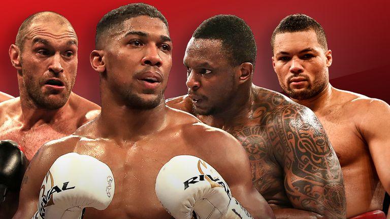 Top 5 British Heavyweights
