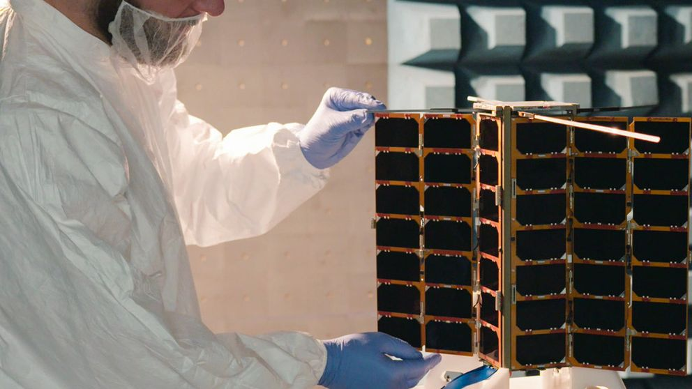 Spire launched three satellites in three weeks in 2018, and has a network of 58 small cubesats in orbit
