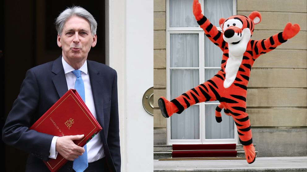 Philip Hammond compared himself to Tigger