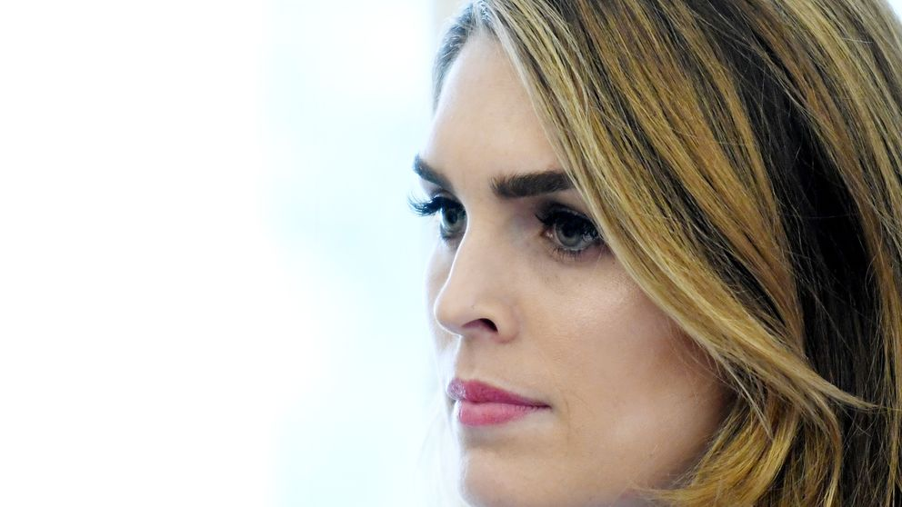 Hope Hicks resigning as communications director