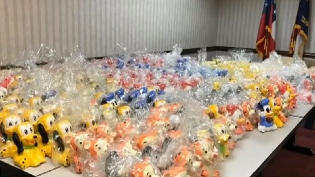Feds seize $2M of meth hidden inside Disney figurines