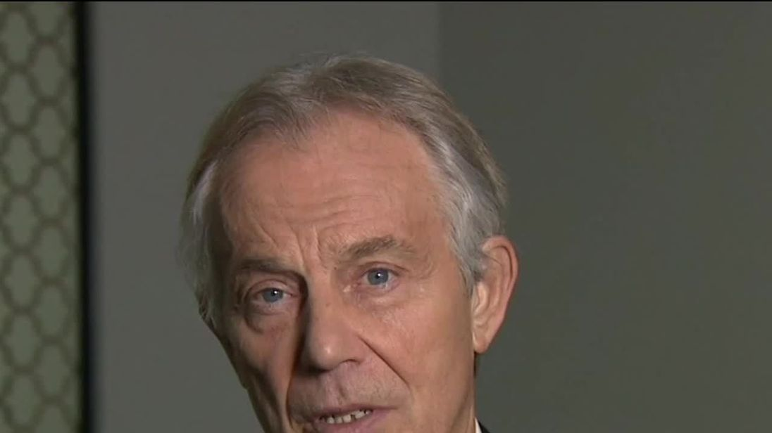 Blair: UK will have to intervene in Syria