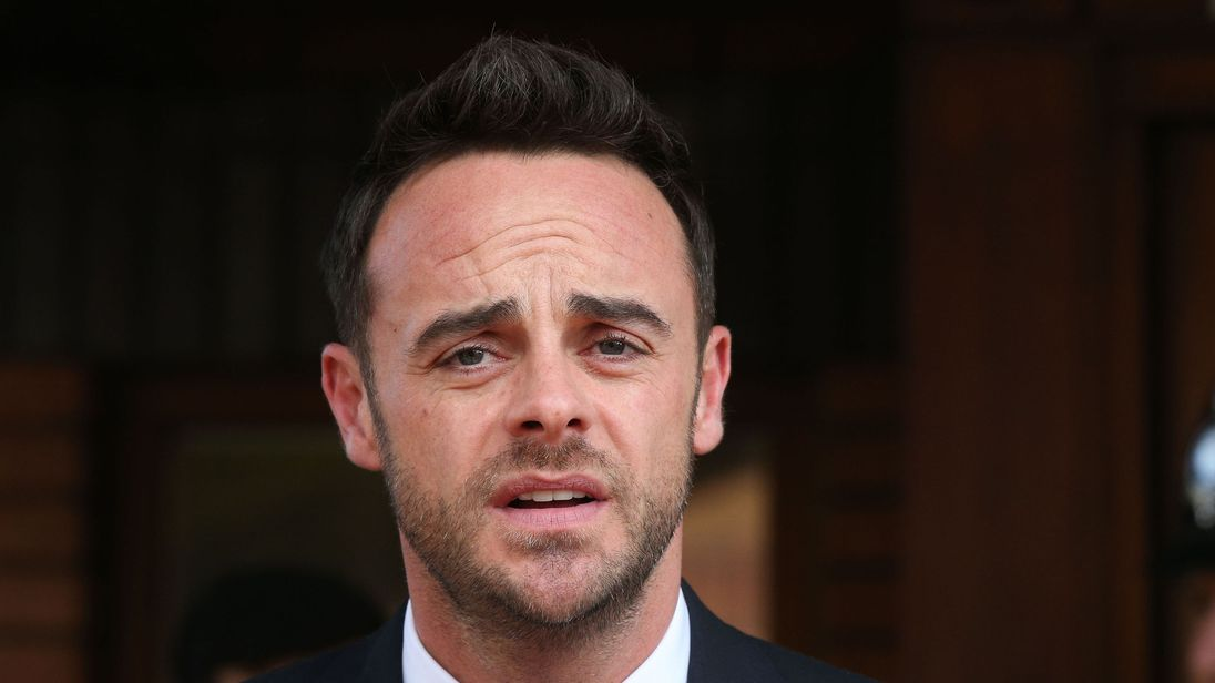 Ant McPartlin will not host this year's I'm a Celeb