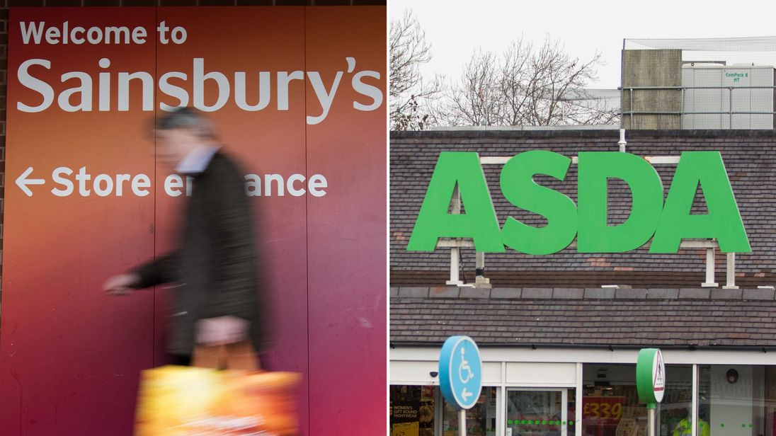 Sainsbury's holding merger talks with rival chain Asda