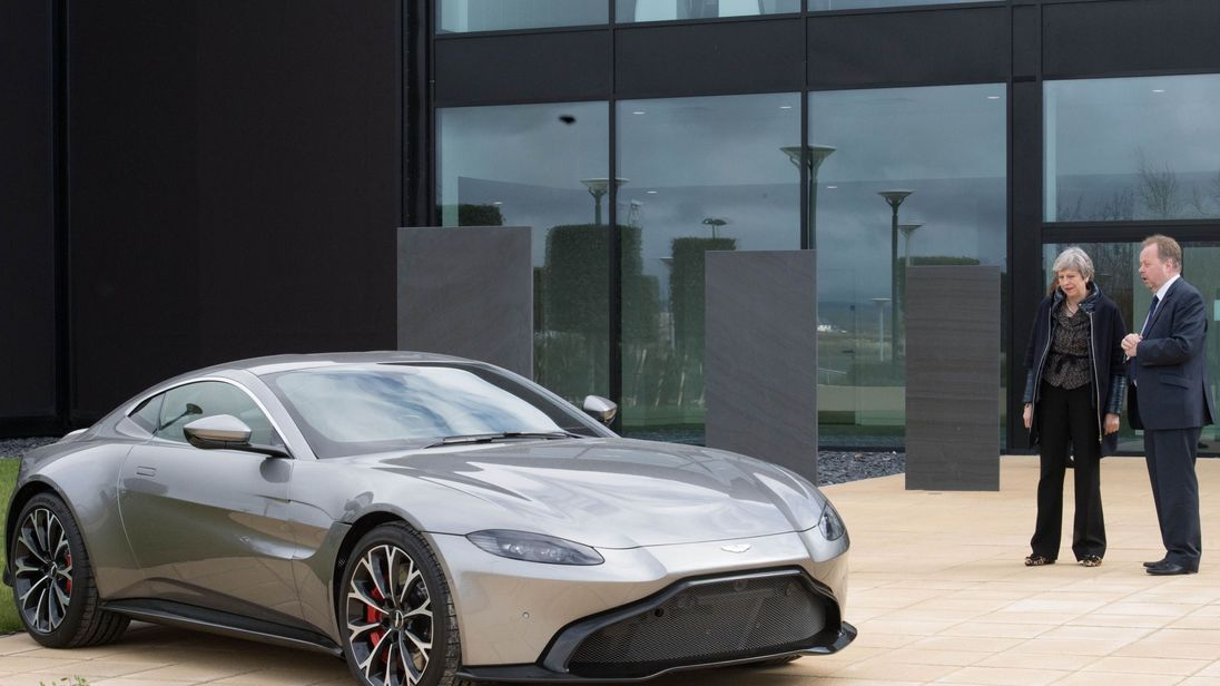 Aston Martin Gears Up For Bn Float With Bank Appointments - Aston martin news
