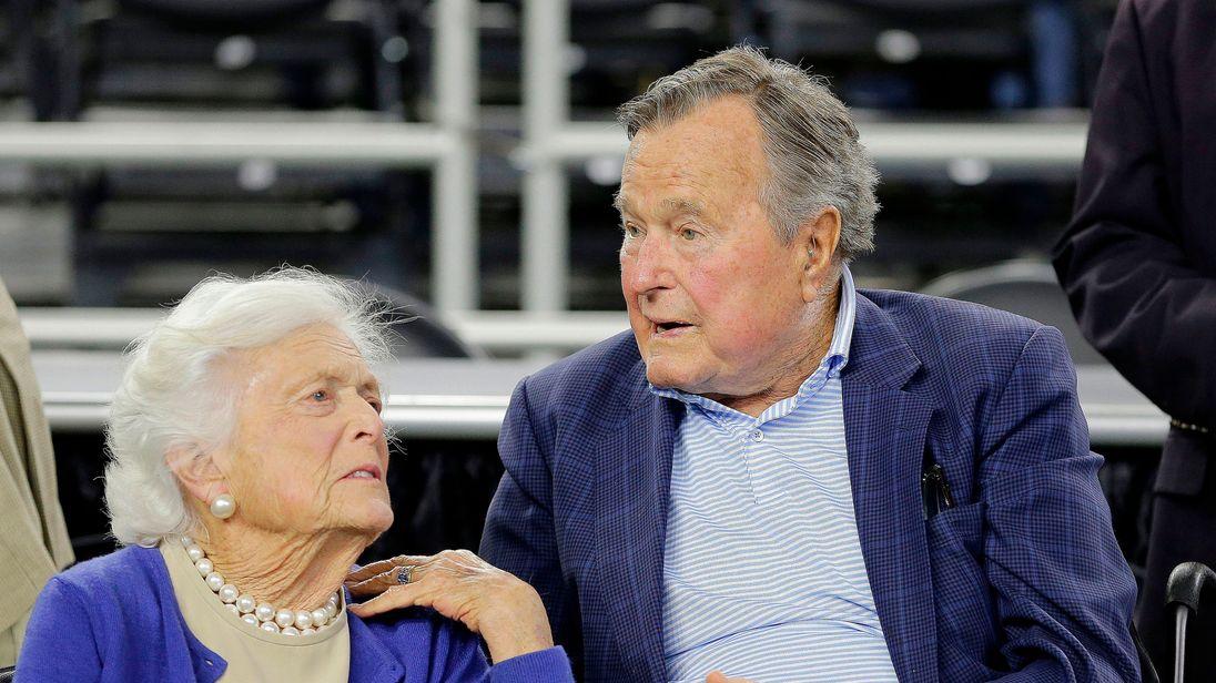 Mainers saddened by news of Barbara Bush's declining health