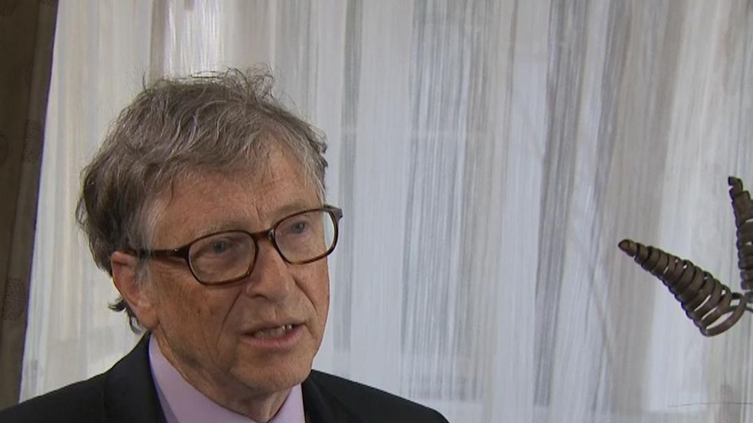 The challenge for Bill Gates