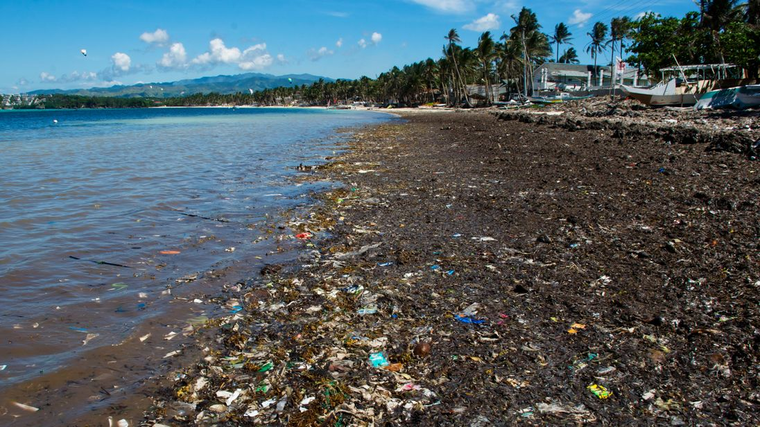 cesspool paradise island of boracay to shut in the philippines