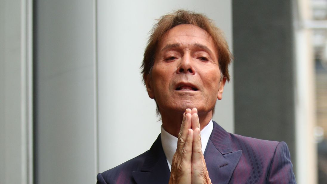 BBC coverage of police raid 'very serious invasion of Cliff Richard's privacy'