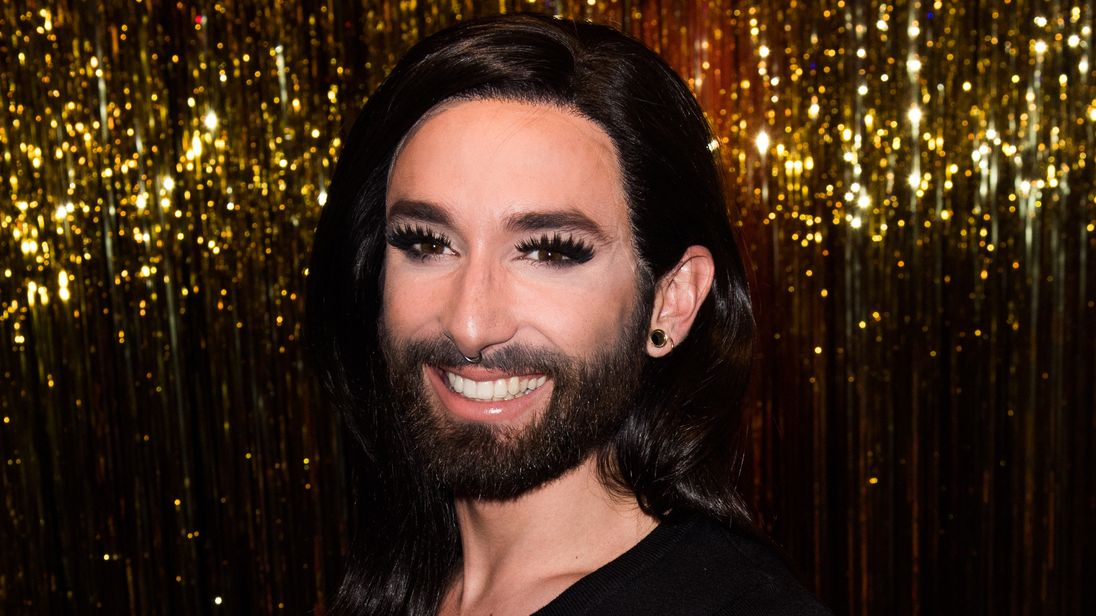 Conchita Wurst won the Eurovision Song Contest in 2014
