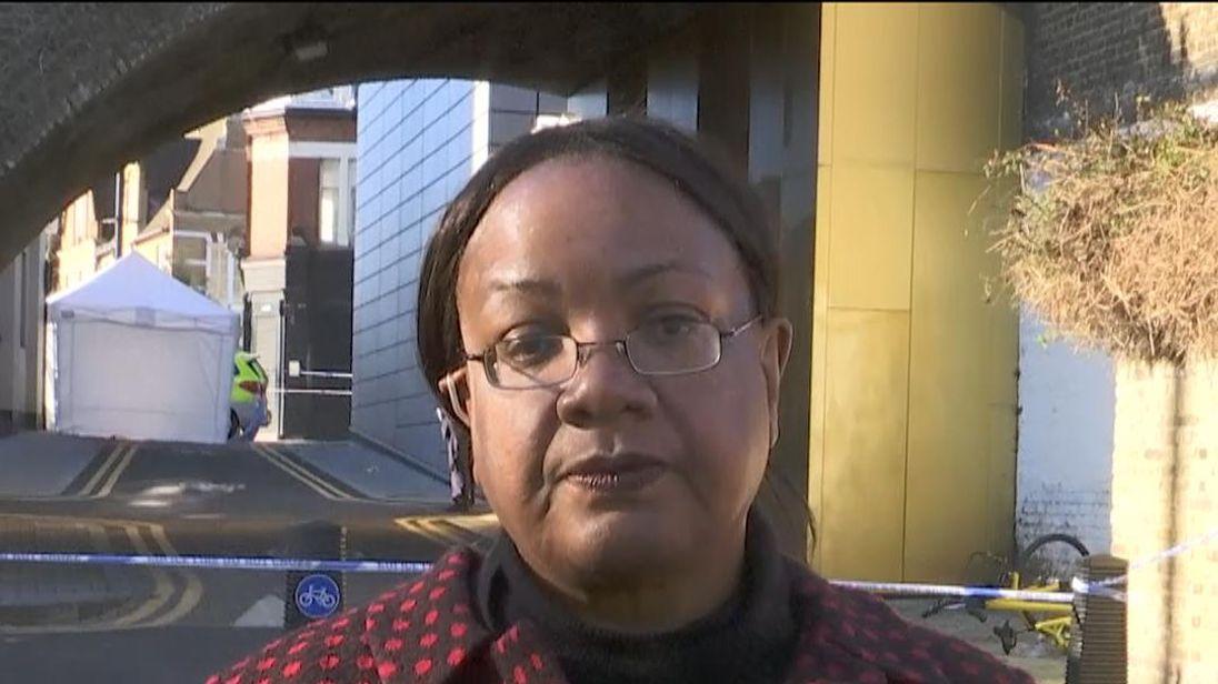 Diane Abbott defends Sadiq Khan over his response to knife crime in London