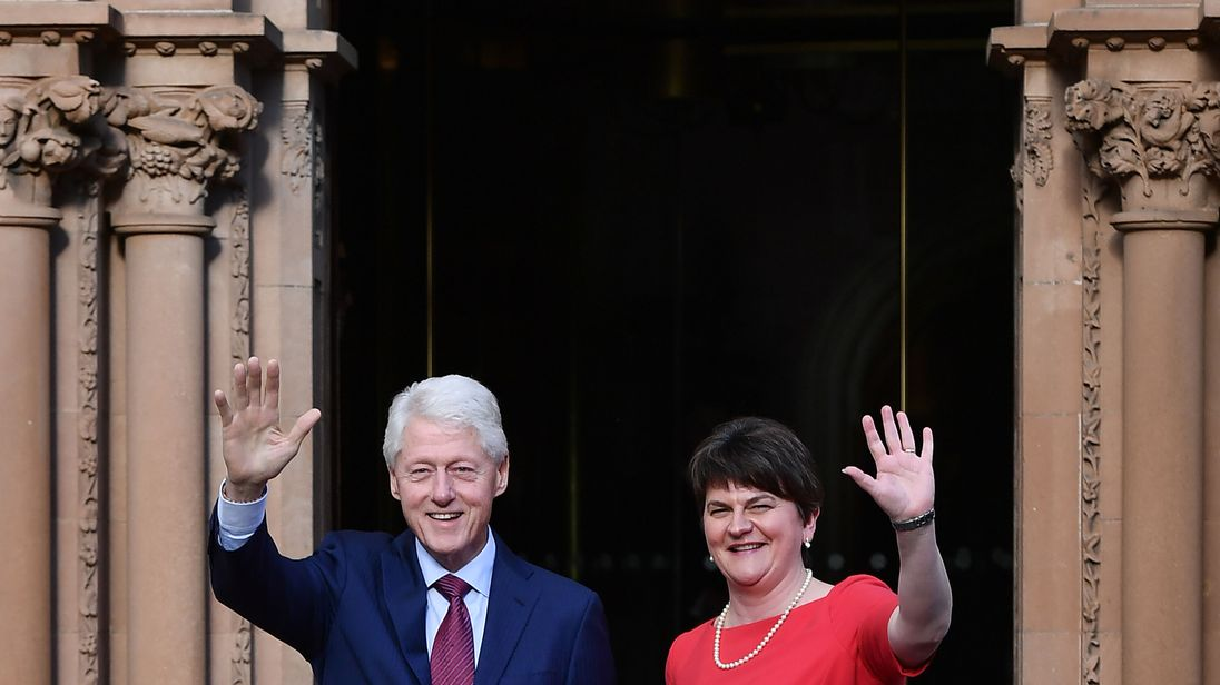 Good Friday Agreement Clinton Urges Parties To Share Power 20 Years On