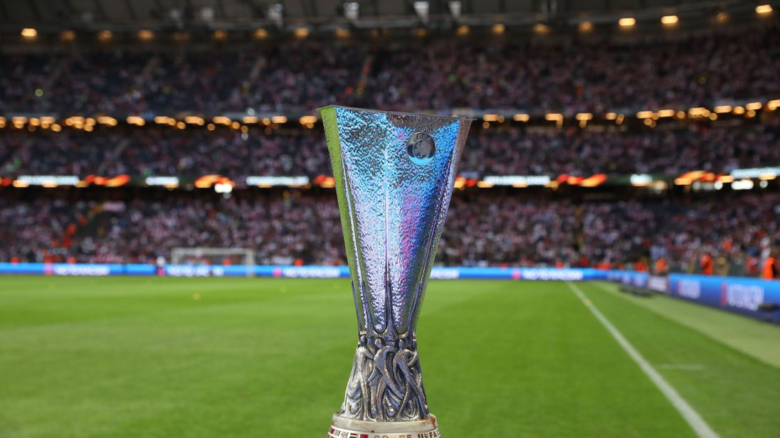 Europa League trophy recovered intact after it was stolen ...