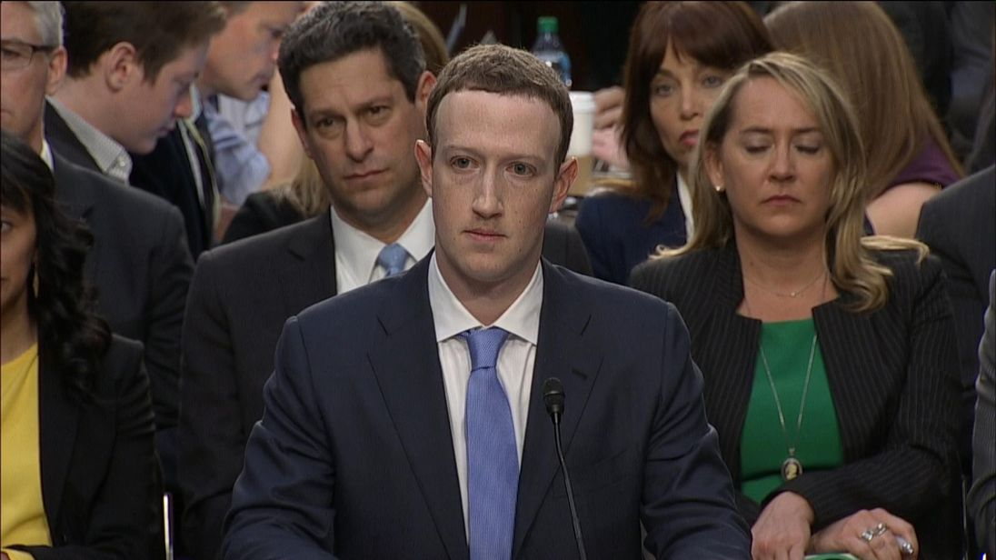 Mark Zuckerberg appears before Congress