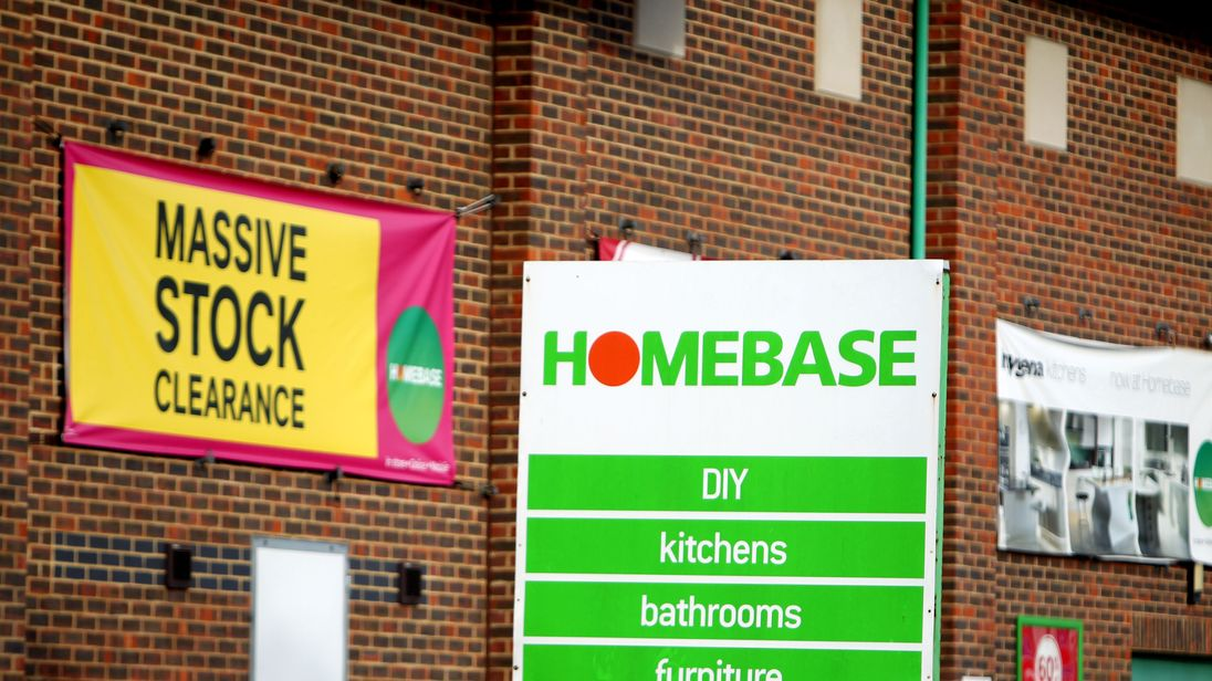 Homebase sold to owner of hmv for nominal sum of 1 gumiabroncs Image collections