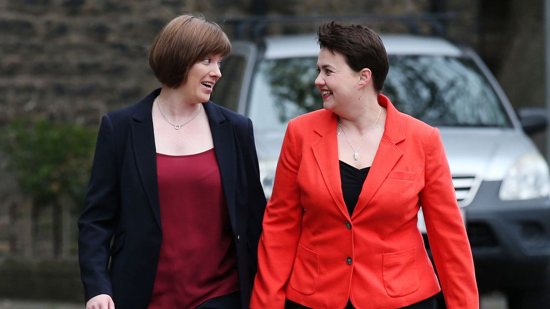 Ruth Davidson: PM job would risk my mental health